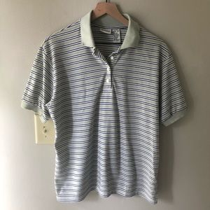 CLASSIC ELEMENTS Striped Polo Shirt